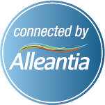 connected by alleantia logo